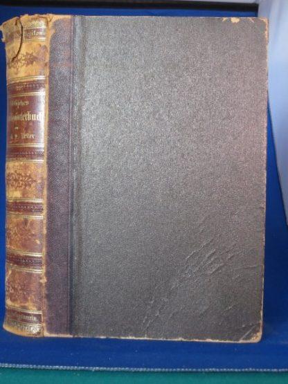 Biblisches Handwörterbuch. illustriert