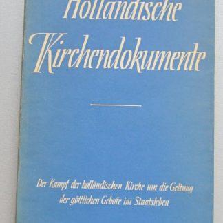 Holländische Kirchendokument