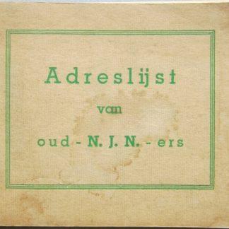 Adreslijst van oud - N.J.N. -ers