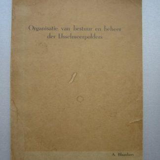 Organisatie van bestuur en beheer der IJsselmeerpolders