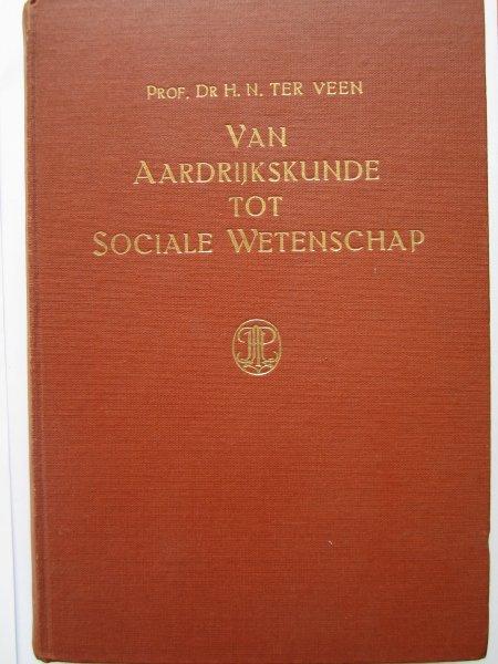 Van aardrijkskunde tot sociale wetenschap