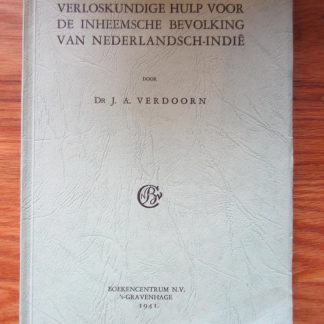 Verloskundige hulp voor de inheemsche bevolking van Nederlandsch-Indië