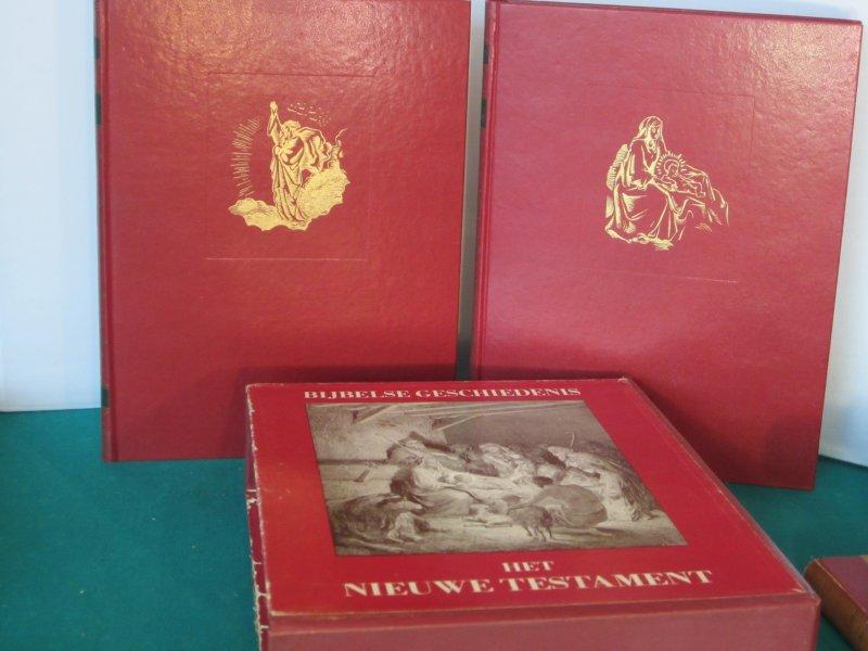 Bijbelse Geschiedenis. Oude en Nieuwe Testament in cassette