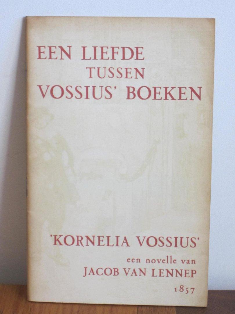 Een liefde tussen vossius boeken