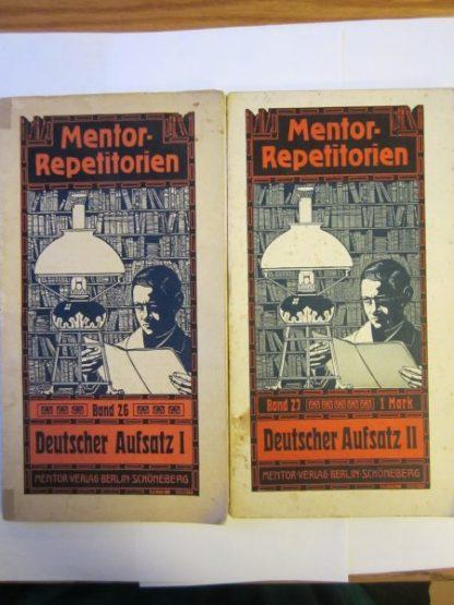 Mentor - Repetitorien. Deutscher Aufsatz I + II