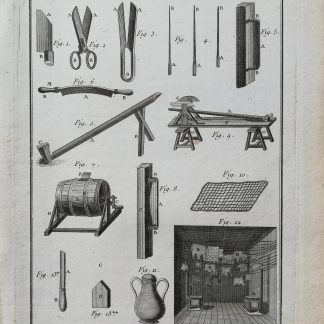 Dennis Diderot & Jean le Rond d'Alembert - Encyclopédie ou dictionnaire raisonné des sciences, des arts et des métiers - Fourreur - kopervragure